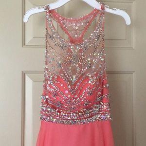 Dresses & Skirts - Pink prom dress
